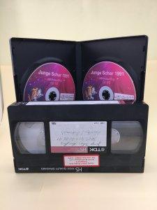 Videokassetten - versch. Filmlängen